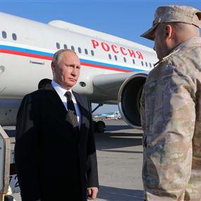 الرئيس السوري فلاديمير بوتين