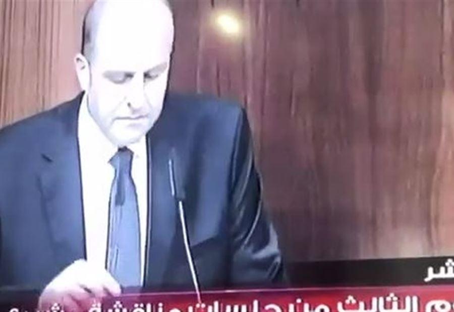 """بالفيديو: سجال بين سليم عون ونديم الجميل .."""" يلي خلّف مات وكثر"""""""