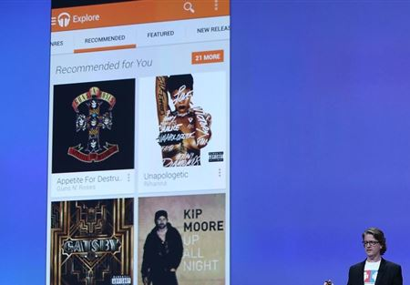 غوغل توفر خدمة الموسيقى مجانا