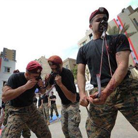 الجيش الكلو مغاوير تخلد عيده باول آب