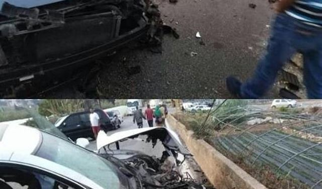 5 جرحى بحادث سير مروع على طريق كوسبا- البترون
