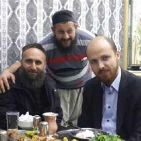 بالصور.. نجل أردوغان مع قياديين في