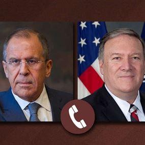 لافروف وبومبيو يبحثان هاتفيًا الوضع في سوريا