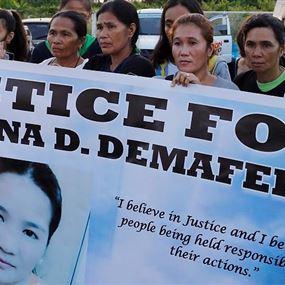 الرئيس الفلبيني يطالب بتسليم اللبناني قاتل الخادمة الفلبينية لبلاده