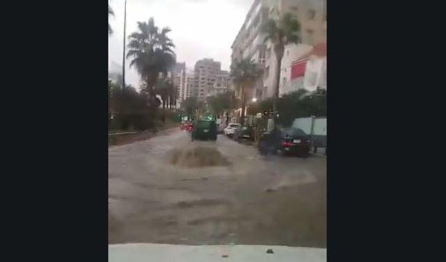 """بالفيديو والصور: لبنان يغرق... وصار في بحر بـ""""بعلبك"""""""