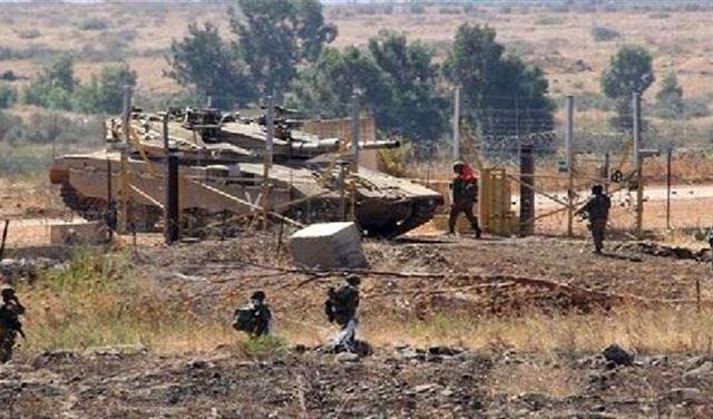 مناورة للجيش الاسرائيلي داخل شبعا