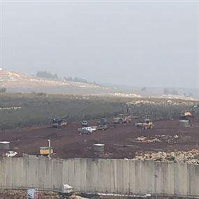 إسرائيل تستكمل أعمال الحفر على الحدود