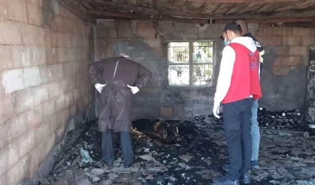 وفاة شاب وزوجته بحريق في سعدنايل (صور)