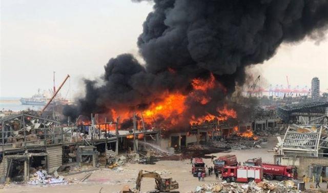 حريق المرفأ... بوسمرا يستأنف تَحقيقاته