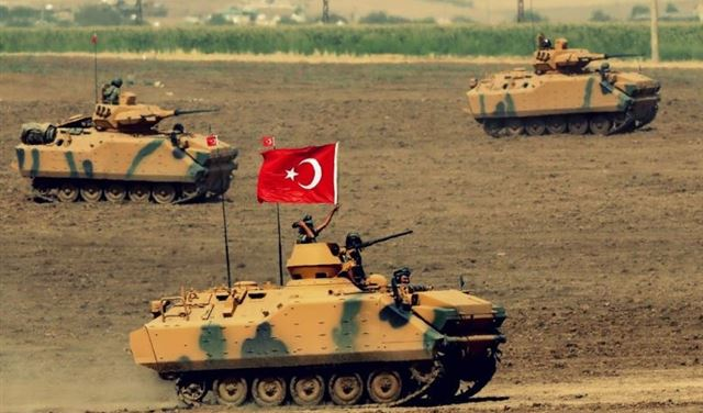 الدفاع التركية تعلن عن قتل مئات المسلحين