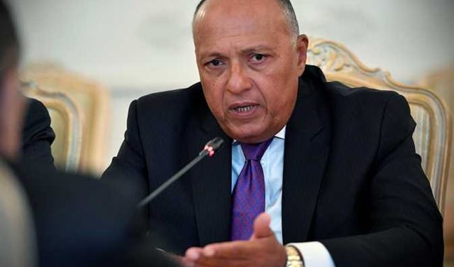 وزير الخارجية المصري في بيروت غداً