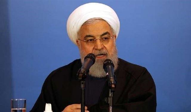 روحاني يوجه رسالة للولايات المتحدة في يوم الجيش