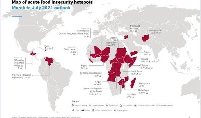 وكالات أممية: لبنان وثلاث دول عربية مهددة بانعدام الامن الغذائي وارتفاع نسب أعمال العنف