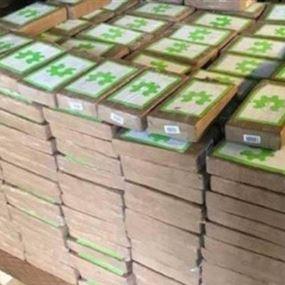 كوكايين بملايين الدولارات بصناديق