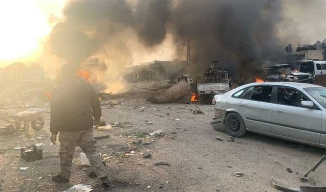 قتلى بإنفجار سيارة مفخخة في رأس العين - سوريا