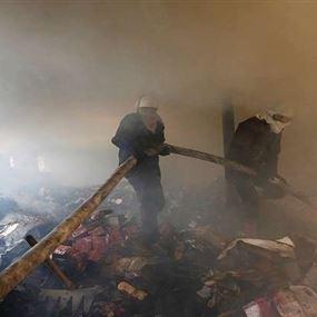 مصرع 17 شخصا باندلاع حريق داخل مصنع في الهند