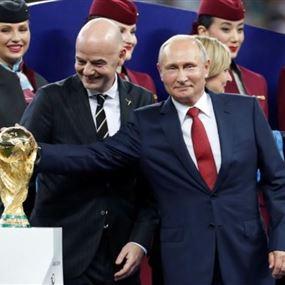 روسيا منعت 25 مليون هجوم إلكتروني خلال كأس العالم