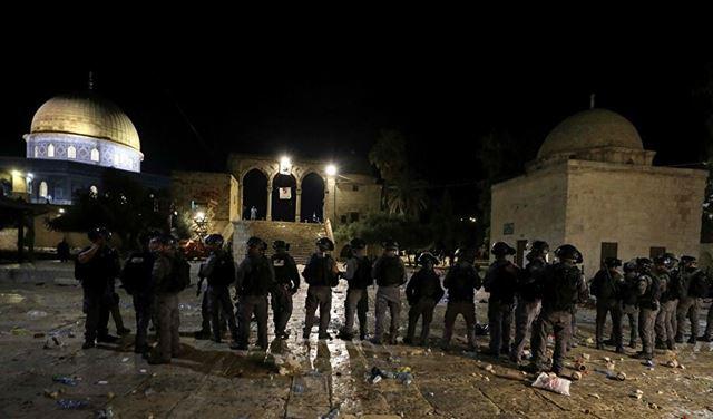 بعد إقتحام المسجد الاقصى... نتنياهو يعلّق