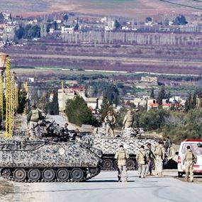 عملية انتشار واسعة للجيش على السلسلة الشرقية