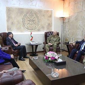 قائد الجيش أكّد لساترفيلد التمسك بسيادة لبنان الكاملة