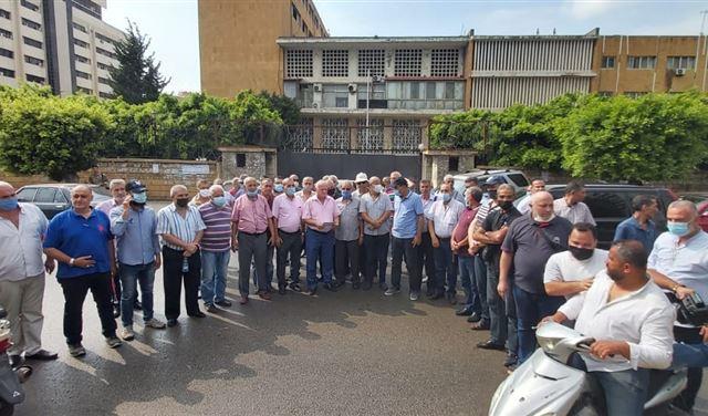 إعتصام لمتقاعدي قوى الأمن في طرابلس