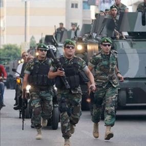 عملية عسكرية أمنية لاعتقال مجموعات مسلّحة في طرابلس