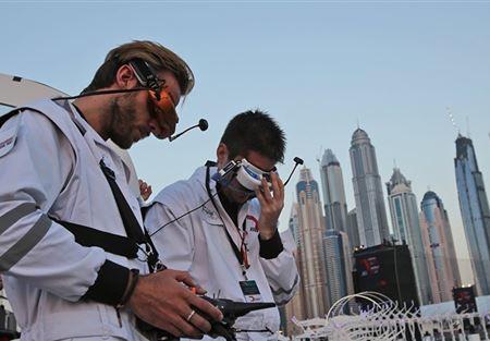 دبي تشيد شبه جزيرة اصطناعية