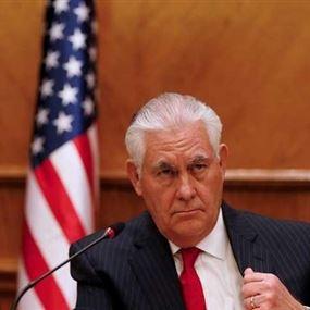تيلرسون رهن إشارة من كوريا الشمالية للتفاوض
