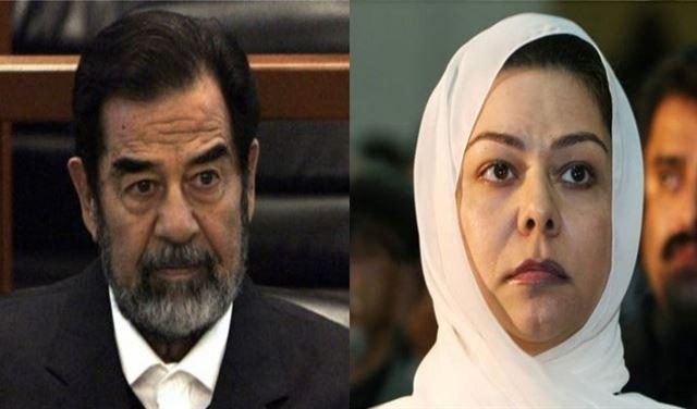 بالصورة: رغد صدام حسين تنشر رسالة خطية نادرة لأبيها