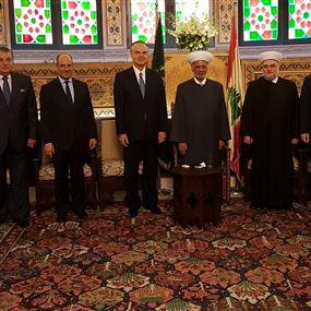 عدوان: وحدها وحدة اللبنانيين تجنب لبنان ما يجري