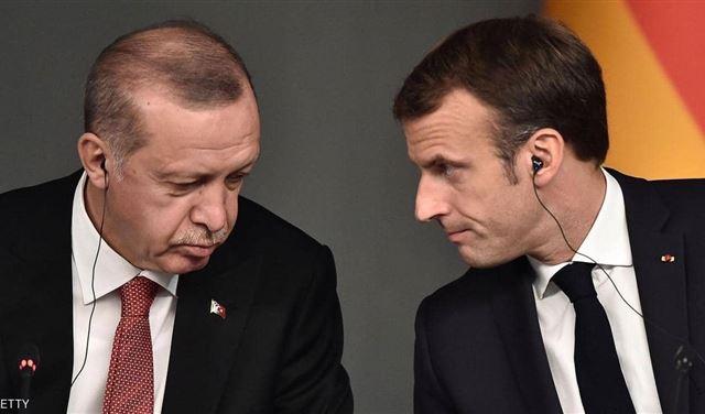ماكرون يدعو أردوغان للإلتزام بوقف التصعيد في المتوسط