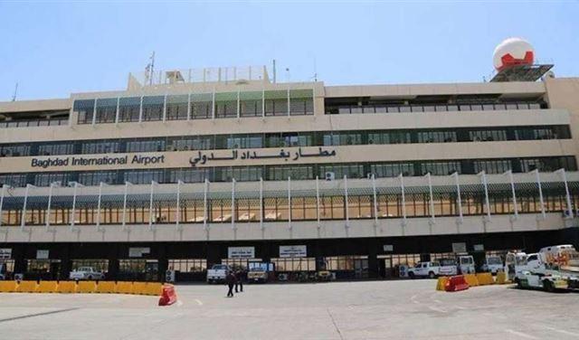 سقوط صاروخين كاتيوشا في محيط مطار بغداد