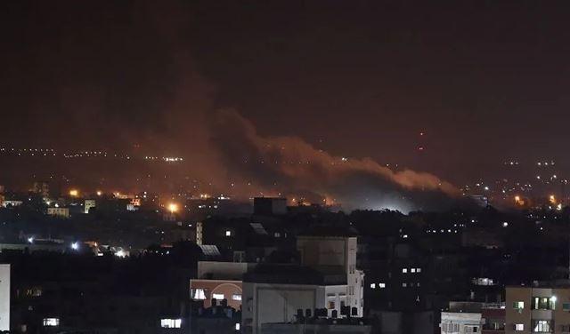 """""""اسرائيل تستهدف مخزن لـ حزب الله في سوريا"""""""
