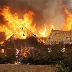 أكثر من 600 مفقود في حرائق كاليفورنيا