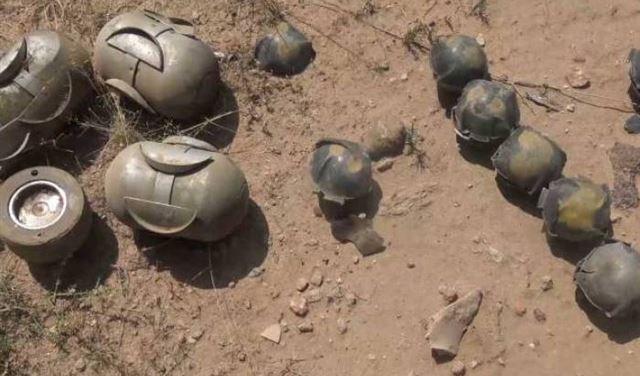 إنفجار قنبلة عنقودية في عدشيت... وسقوط قتيل!