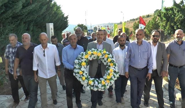 مرشح حزب الله وأمل في فرعية صور يطلق حملته