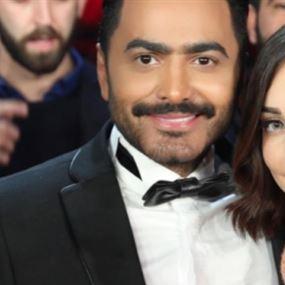 بعد اتهامه بخيانة زوجته مع فتاةٍ لبنانية...تامر حسني يُنهي الجدل ويردّ على خبر طلاقه!