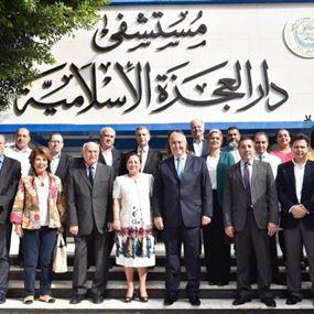 مخوزمي في زيارة للمسنين في بيروت:لتفعيل قانون ضمان الشيخوخة