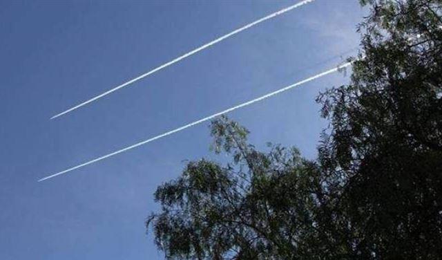 طائرات اسرائيلية في سماء مرجعيون على علو منخفض