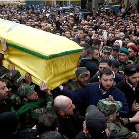 """مصرع مقاتل ثالث لـ""""حزب الله"""" في اقل من ثلاثة ايام"""