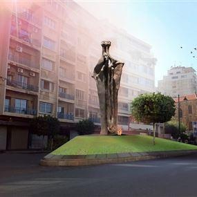ما قصة التمثال الجديد في الجميزة؟