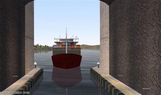 أول نفق مائي للسفن في العالم