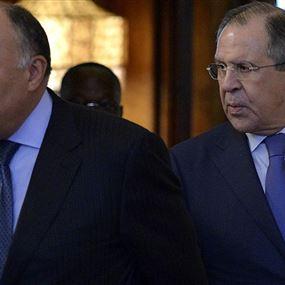 وزيرا الخارجية والدفاع الروسيان في القاهرة