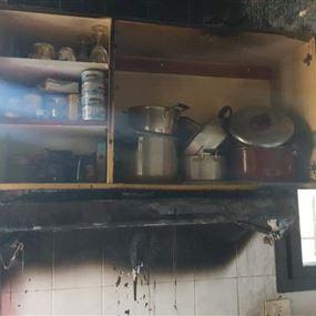 بالصور: إخماد حريقين في فاريا وحراجل