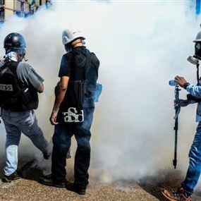 توثيق 376 اعتداء على الصحفيين في فنزويلا