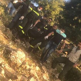بالصور:  العثور على جثة رجل في جبل الصويري