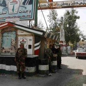 اصابة مرافق قائد قوات الامن الفلسطيني في مخيم عين الحلوة