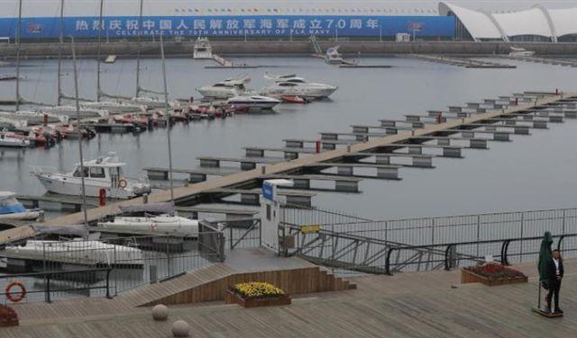 """الصين تعرض الثلاثاء """"عضلاتها العسكرية البحرية"""""""