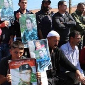 أهالي العسكريين: نحمل الحكومة وابراهيم وبري المسؤولية