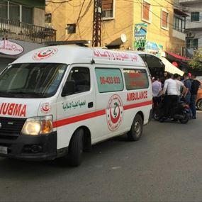 جريح بحادث صدم في طرابلس